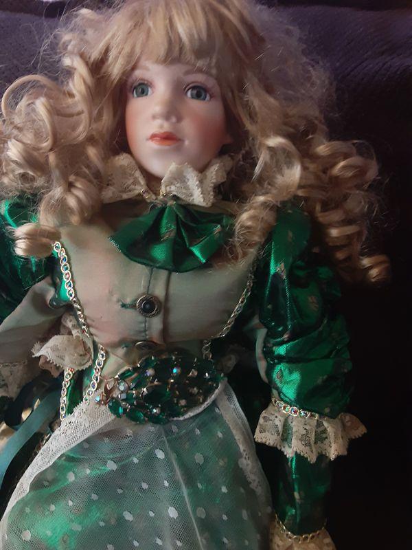 Dolls antique porcelin