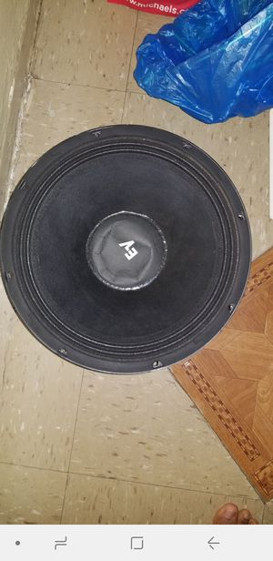 "Trade for subwoofer 2 12"" speakers for Sale in Brooklyn, NY"