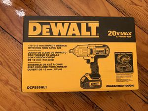 "Brand New DeWalt 1/2"" (13mm) Impact Wrench with Hog Ring Anvil Kit - Model DCF889HL1 for Sale in Mechanicsburg, PA"