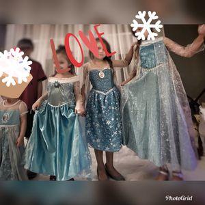 Elsa princess dresses for Sale in Austin, TX