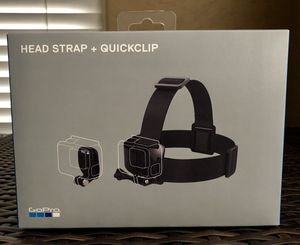 GoPro Head Strap and QuickClip for Sale in Avondale, AZ