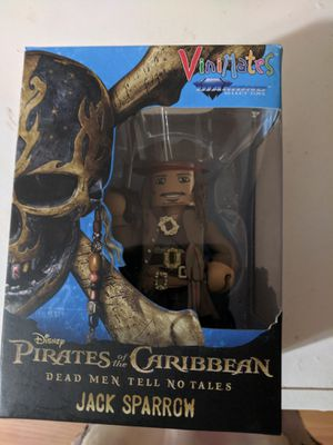 Vinimates Jack Sparrow from pirates of the Caribbean for Sale in Winston, GA