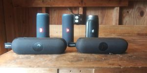 Ubl speakers choose the one you like. 60 dollars each. Google the original price for Sale in Sterling, VA