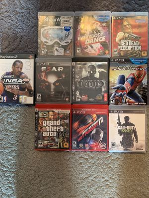 PlayStation 3 and one PS2 game for Sale in Mandan, ND