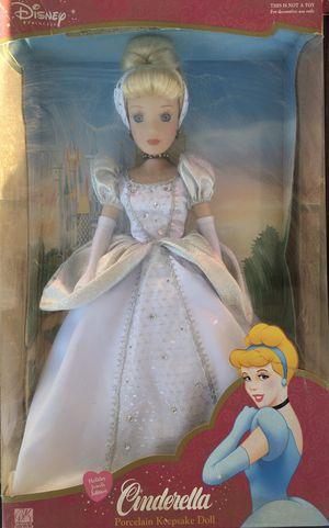 Cinderella Porcelain Keepsake Doll for Sale in San Jose, CA