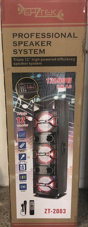 Zenith speakers karaoke for Sale in Gulfport, FL