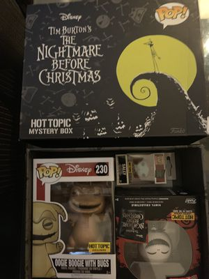 Nightmare before Christmas funko box for Sale in Leander, TX