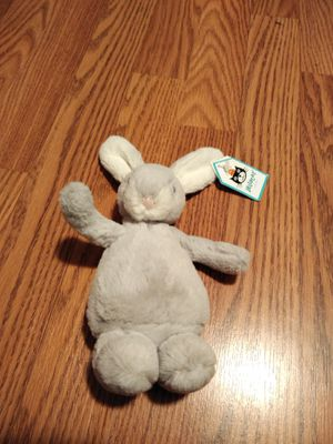 "Jellycat silver bobtail bunny 9"" for Sale in Eugene, OR"