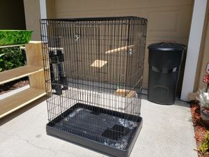 Tall animal cage. Chinchilla or Rabbit. for Sale in Tampa, FL
