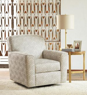 🌲Ashley Daylon Graphite Swivel Accent Chair for Sale in Berwyn Heights, MD