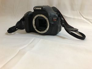 Canon Rebel T3i with 2 cable charges + 50mm + 18-55mm + 4 filters 58mm + Original Manfrotto Bag for Sale in Tampa, FL