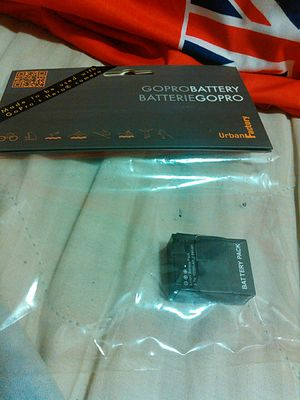 Battery Pack for GoPro Hero3 and Hero 3+ for Sale in Portland, OR