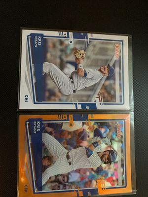 Kris Bryant 2020 Donruss Baseball Card Lot for Sale in New Bedford, MA