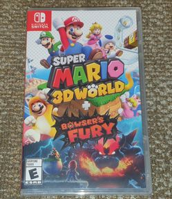 Super Mario 3D World + Bowser's Fury Nintendo Switch Brand New Factory Sealed for Sale in Bothell,  WA