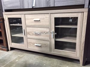 Emily TV Stand for TVs up to 70 inch, Dark Taupe, SKU# ID171919TC for Sale in Santa Fe Springs, CA