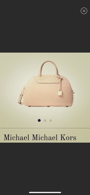 BRANDNEW authentic Michael Kors Austin bowling satchel for Sale in Pittsburgh, PA