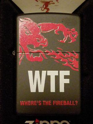 Zippo fireball black matte 29849 for Sale in Los Angeles, CA