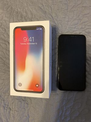 iPhone X 256gb AT&T Space Gray for Sale in Sanford, FL