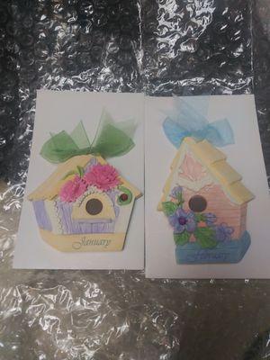 Avon birthstone birdhouse magnets for Sale in Federal Way, WA