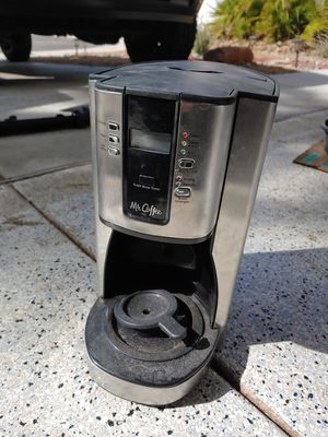 Mr Coffee 12 cup coffee maker for Sale in Las Vegas, NV