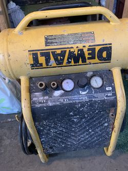 Dewalt Air Compressor Works Great 👍🏽 for Sale in San Jose,  CA