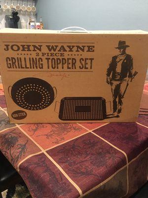 John Wayne bbq grilling topper set for Sale in Pomona, CA