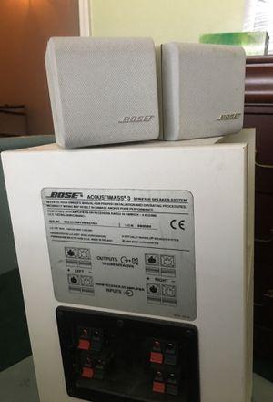 Bose Acoustimass 3 speaker system for Sale in Clovis, CA