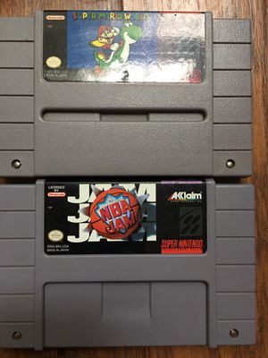 Super Nintendo games for Sale in Jackson, NJ