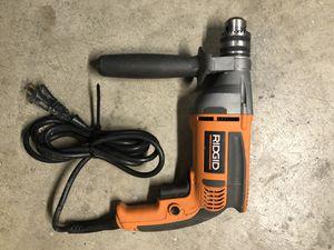 Ridgid Heavy Duty Variable Speed Drill for Sale in Fontana, CA