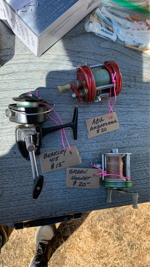 Old Fishing reels for Sale in Olympia, WA