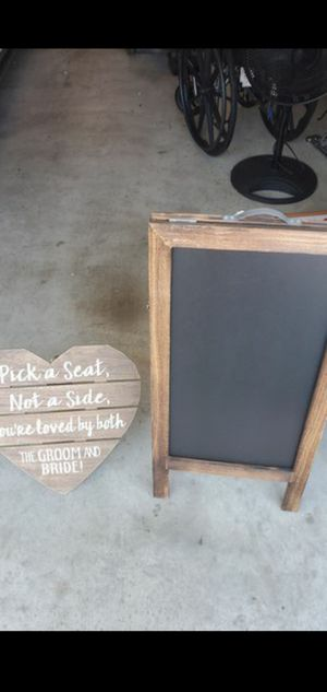 Wedding signage for Sale in Austin, TX