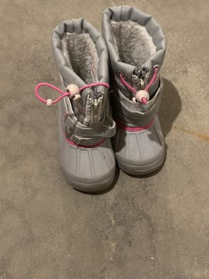 Koala kid snow boots size 7 toddler girls for Sale in Aurora, IL