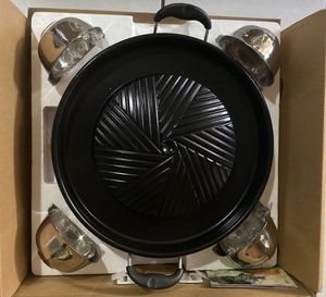 KOREAN BBQ GRILL (COMPLETE SET) for Sale in National City, CA