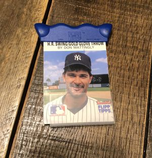MLB Flipp Tipps Yankee baseball tip booklet for Sale in Sound Beach, NY