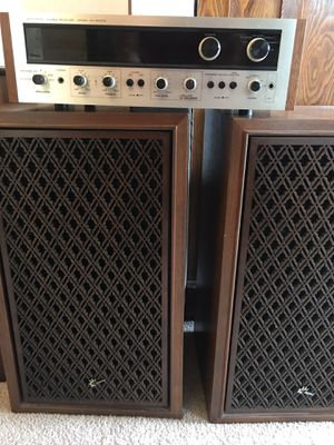 Vintage Stereo Set - Pioneer SX-1500TD Receiver & Sansui SP-2000 Speakers for Sale in Tacoma, WA