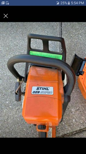 Stihl 029 super chainsaw for Sale in Gary, IN