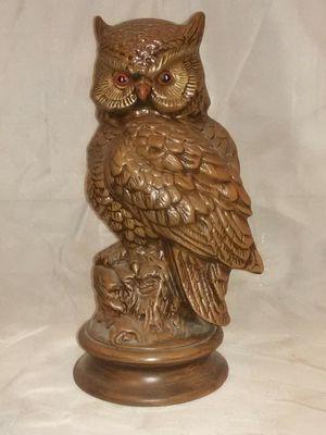 "vintage Ceramic Owl 11.5""tall 5""wide for Sale in Wichita, KS"