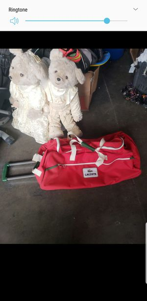 "Authentic Lacoste rolling travel bag 30"" x 15"" for Sale in Downey, CA"