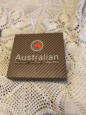 3 pack of Australian Premium Leather Collection for Sale in Milpitas, CA