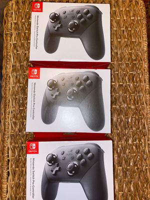 Nintendo Switch pro controller brand new for Sale in Lawndale, CA