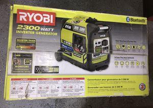 RYOBI Bluetooth 2,300 Starting Watt Super Digital Inverter Generator MSRP $600 for Sale in Brooklyn, NY
