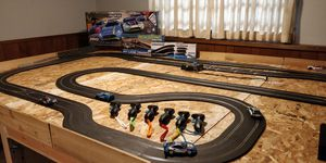 Scalextric Digital Pro Platinum GT Slot Car Set + Extras for Sale in Tacoma, WA