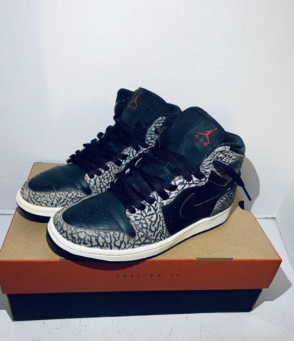 Jordan 1 Black Elephant
