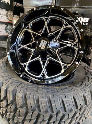 "20"" HAVOK WHEELS & TIRES Package • 20x10 Rims • 33x12.5R20 CrossLeader Tires Only $1450 for Sale in Westminster, CA"