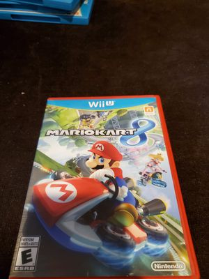 Mariotkart 8 for Nintendo wii u for Sale in San Jose, CA