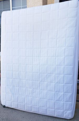 EXCELLENT CONDITION Ikea QUEEN Sz Size Mattress + Removable COVER INCLUDED for Sale in Monterey Park, CA