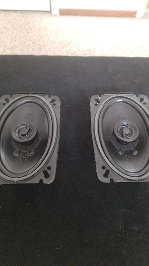 2 Memphis car audio 4×6 tweeters for Sale in Modesto, CA