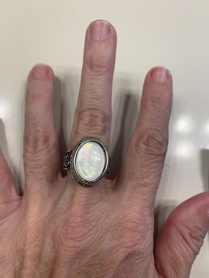 New moonstone silver ring size 7 for Sale in Hoffman Estates, IL