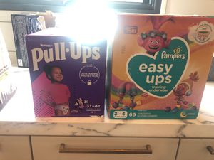 Unopened 3T/4t pull-ups boxes-114 diapers! for Sale in Portland, OR