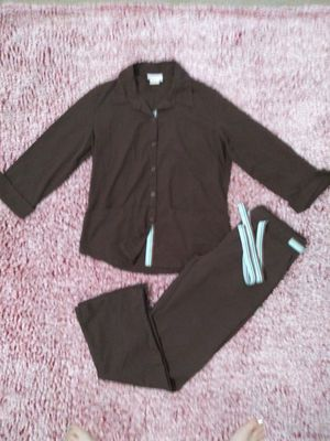 Womens PEACHES Brand Scrub Outfit Uniform Size SMALL for Sale in Victoria, TX